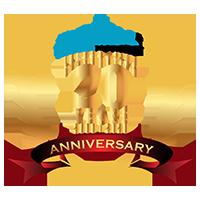 Sky2c anniversary logo